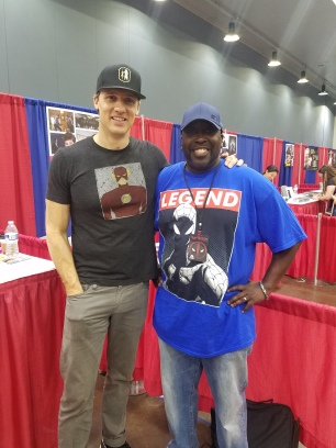 Teddy Sears..Zoom himself!